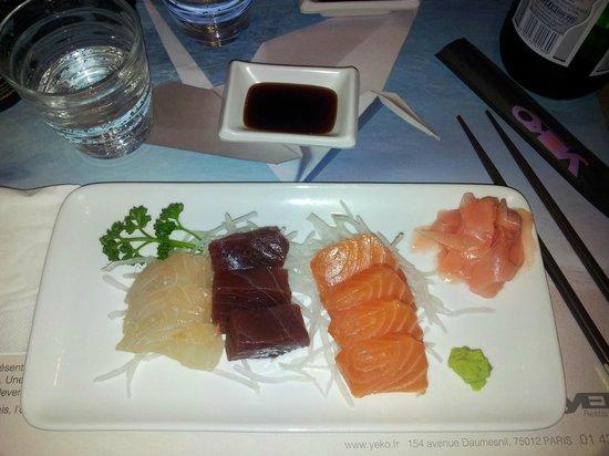 Yeko : Sashimi