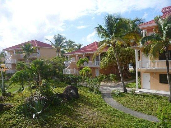 Le Flamboyant Hotel and Resort: Hotelanlage