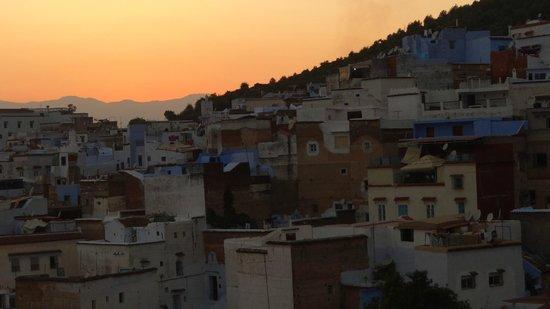 Dar Onsar : Medina à la tombée de la nuit