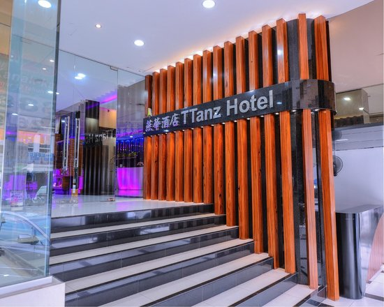 Ttanz Hotel: Front Entrance