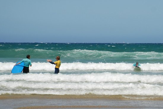 Great Ocean Road Surf Tours: Getting pointers
