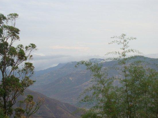 Mount View Heritage Hotel: View from Veranda