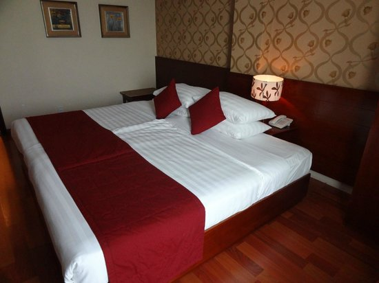 Asian Ruby Park View Hotel : Chambre