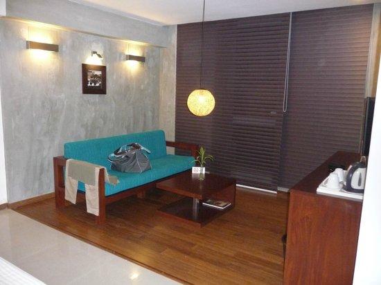 Hotel Topaz: coin salon