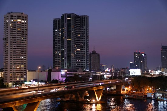 Shangri-La Hotel,Bangkok : River view