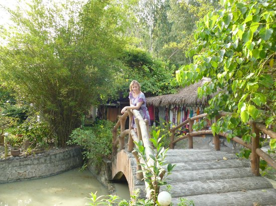 Thap Ba Hot Springs: Вход на старые грязи