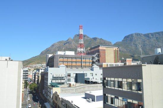 โรงแรมพาร์เลียเม้นท์: Awesome view of Table Mountain