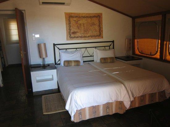 Sossusvlei Lodge : La chambre