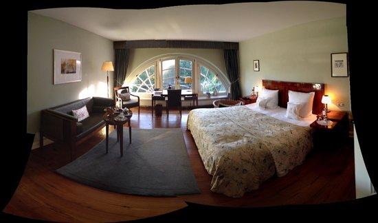 Schlosshotel Burg Schlitz: our room