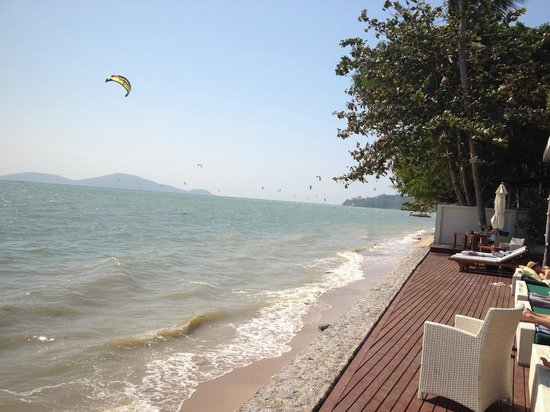 Serenity Resort & Residences Phuket: Beach / High Tide