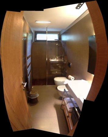 Eden Hotel Bormio: bathroom