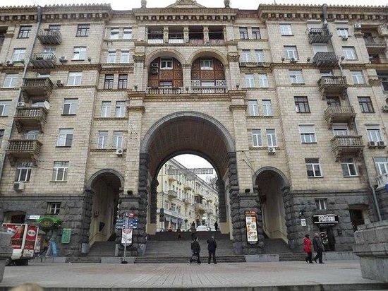 Calle Khreshchatyk: фасад