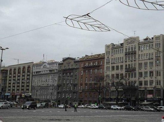 Calle Khreshchatyk: хрещатик