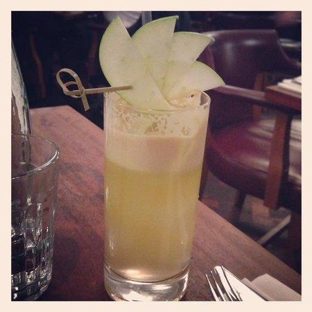 Hawksmoor Guildhall: Jazzy apple juice
