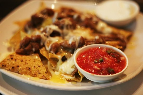 Ricky's Coffee Shop: Nachos - Not Exactly Authentic On Sauce, But Tasty Anyway