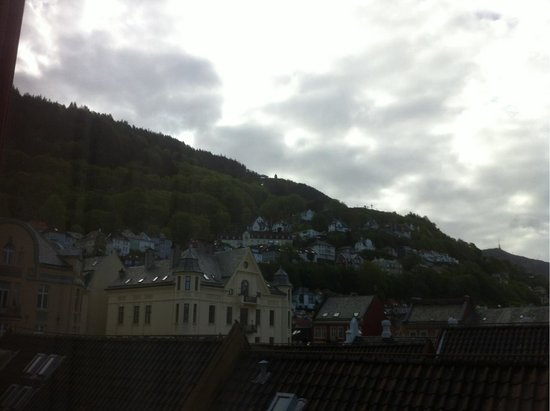 Radisson Blu Royal Hotel, Bergen: View of the city