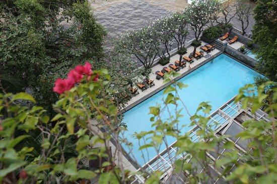 Shangri-La Hotel,Bangkok : Pool view