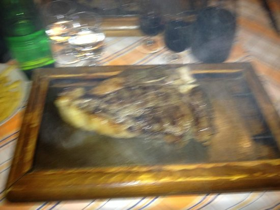 Bisteccheria da Mario: Bistecca da 1,6 kg