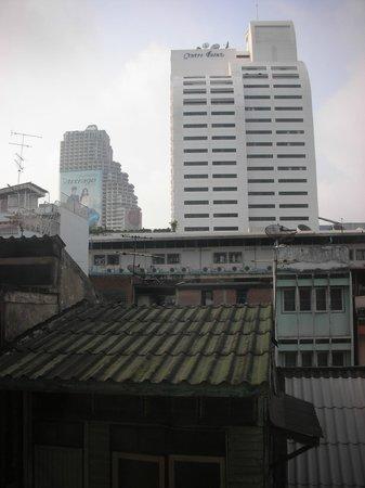 Bossotel Bangkok: vista dal 4° piano
