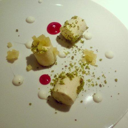 Gile Restaurant: Heavy Cream frozen with some fruit
