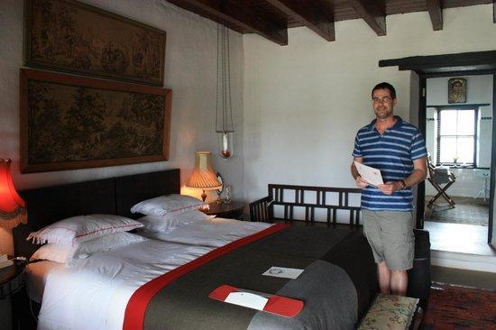 Halfaampieskraal: Our bedroom - amazing!