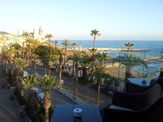 Hotel Platjador: vista desde la terraza bar