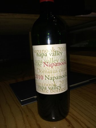 Nobu : Another wine, another great choice.