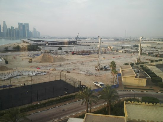 InterContinental Doha: Sea View Room - That i got !!