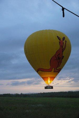 Hot Air Balloon Port Douglas : Hot air balloon