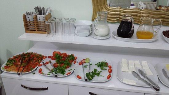 Modern Sultan Hotel: sala colazione