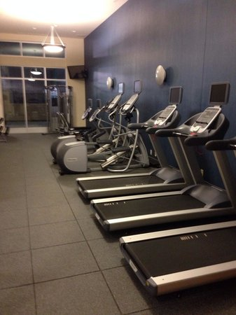 Hampton Inn & Suites Downtown Owensboro/Waterfront : Gym was reasonably well equipped and spacious