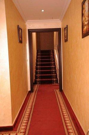 Queen's Suite Hotel: Halls