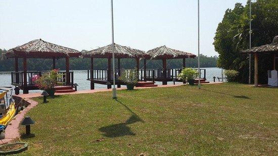 Dalmanuta Gardens - Ayurvedic Resort & Restaurant : Dinner with a view :)