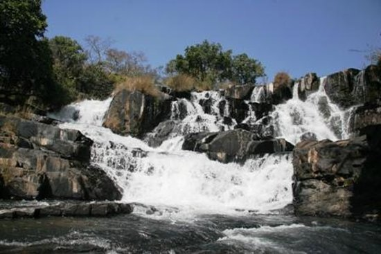 Nyanga, Zimbabwe: A typical waterfall near to Udu Dam and Lodges