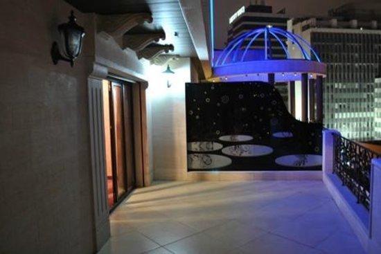 Q Hotel: Terrace