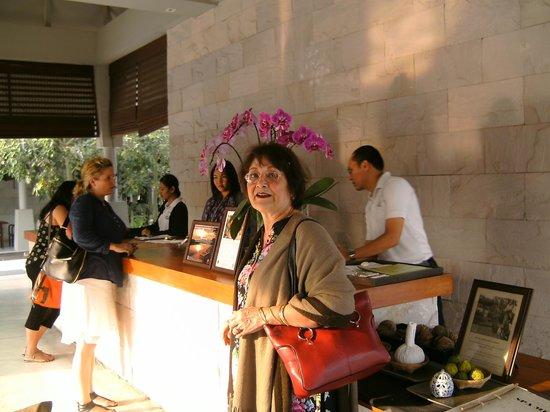 AKA Resort & Spa: Resort reception