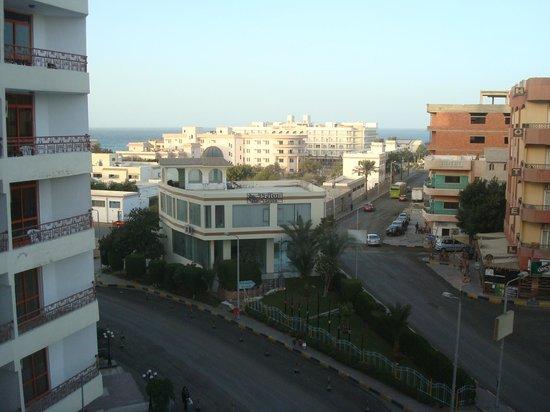Triton Empire Hotel: View from room 416