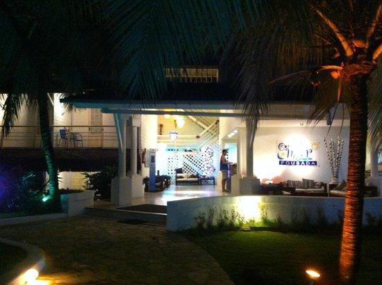 Raja Pousada Cores Do Mar: entrada do hotel