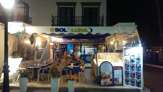 Café Sol Y Luna: sol y luna