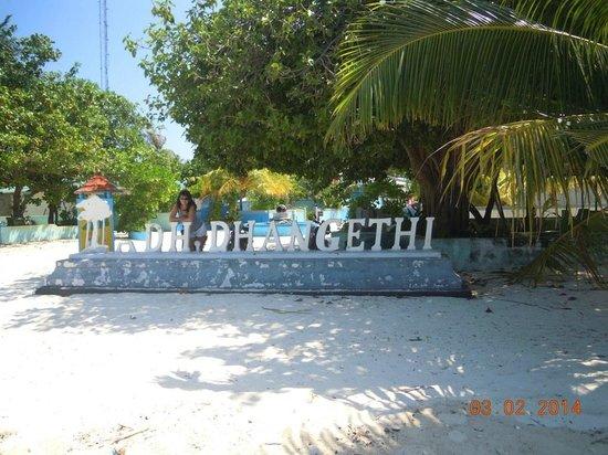 Atoll Beach Inn: our island Dhangethi