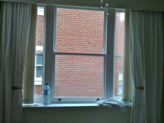 Broad Street 35: View from one of the £85 a night rooms