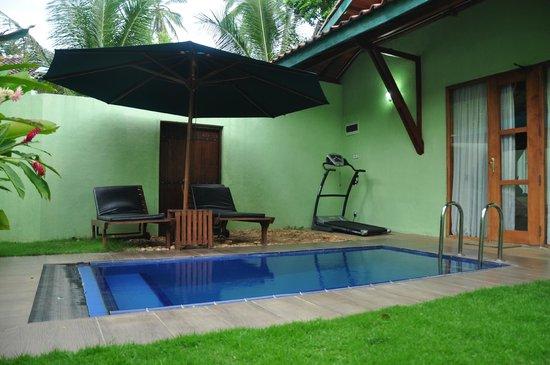 Brook Boutique Hotel & Spa: Private pool