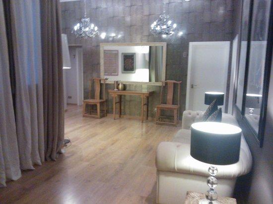 Vasanta Hotel Boutique: L'entree