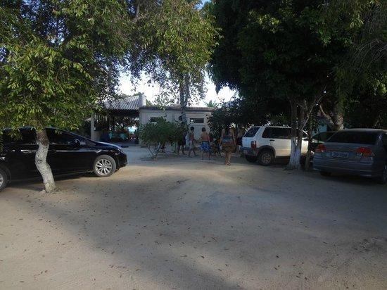Restaurante Catamara: estacionamento.
