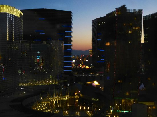 Monte Carlo Resort & Casino : Looking out over City Centre