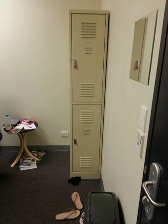 The Greenhouse Backpacker: Locker in the room