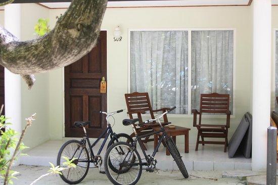 Sun Island Resort and Spa : chambre 508, calme et plage isolé devant