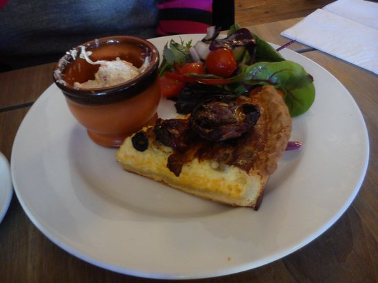 Quiche at 'The Running Fox'