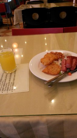 Summer View Hotel: Favorite breakfast menu