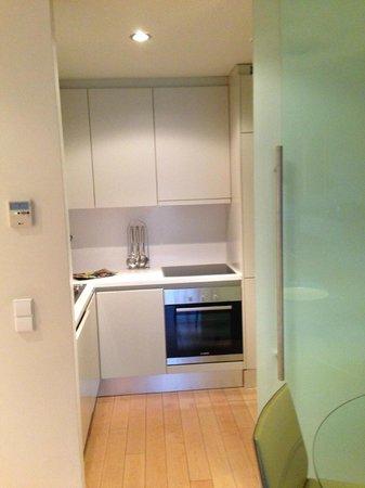 Serviced Apartments Boavista Palace : cozinha